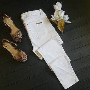 🌼 Michael Kors White Jeans